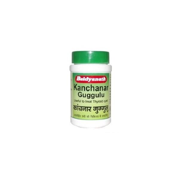 BAIDYANATH KANCHNAR GUGGULU - AGAINST TUMOR, CYSTS, GOITER, WOUND HEALING,  CANCER
